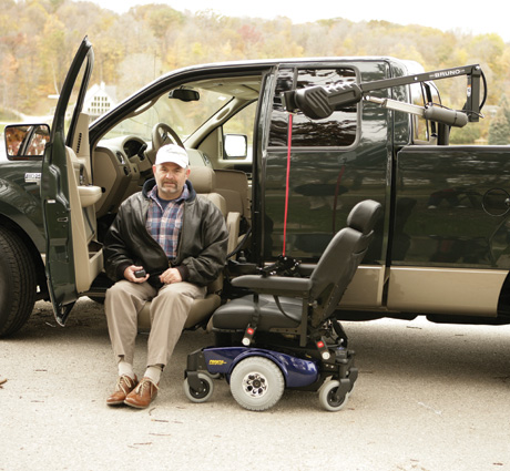 Vehicle Lifts | MediTech Mobility, LLC